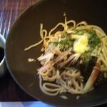 そば 蕎文 - 海草の赤もくに生姜入り、大変美味しゅう御座いました
