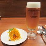 68714601 - アミューズ300円と生ビール700円