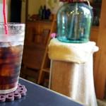 カフェギャラリー 茶蔵 - 2017年6月 アイスコーヒーと店内