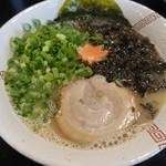 らーめん たなっぷ - 海醤麺(ハイジャンメン)塩+青ネギ 650円