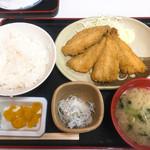 68719036 - アジフライ定食900円