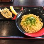 伊予製麺 - 釜玉うどん