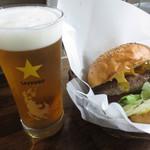 フリスコ - チーズハンバーガー&生ビール