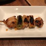 軽井沢 鶏味座 - 地鶏ねぎま