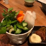 軽井沢 鶏味座 - 朝獲れ野菜スティック