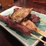 小倉山 - 串焼き