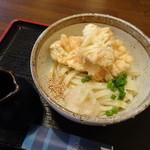 かつまる - 料理写真:かしわ天ぶっかけうどん(850円・込)