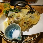 68724993 - いわしの香梅天ぷら