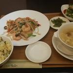 香港酒家 富紀 - 料理写真:料理ランチ。