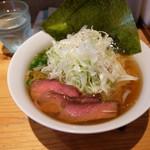 大木 - ねぎラーメン(800円)