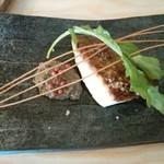 68726290 - 昆布〆真鯛のポワレ690円。皮はパリッ、身はふわっで美味しい。