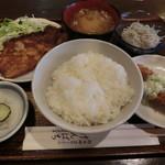 げんぱち - ランチセット850円