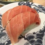 廻転寿司 海鮮 -  本まぐろ大トロ 756円