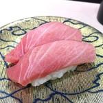 廻転寿司 海鮮 - 本まぐろ中トロ 540円