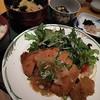 呑ん太 - 料理写真:今週の呑ん太定食:とんかつ~おろしポン酢かけ~