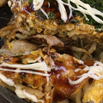お好み焼き鉄板居酒屋 大昌 - 広島お好み焼き(^_^)うどんでボリュームアップ