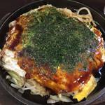 お好み焼き鉄板居酒屋 大昌 - 肉玉うどん(´∀`)広島お好み焼き