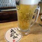 68728350 - セットの生ビール。