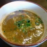 らー麺 鉄山靠 - 「魚介豚骨つけ麺」濃厚魚介豚骨Wスープ