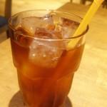 E's CAFE - アイスティー