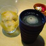 山里 - 梅酒と焼酎そば湯割