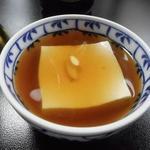 笹乃雪 - あんかけ豆腐
