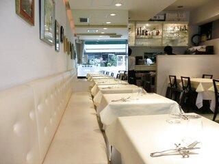 VIA Brianza - 店内のテーブル席の風景です