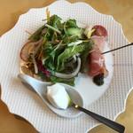 ル・ポタージュ - 前菜 とにかく野菜が美味しい