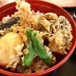 だるま - 金目天丼(1,500円)