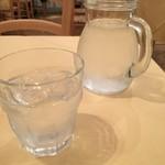 ピッツェリア・トラットリア ナプレ - 水がおいしい