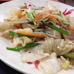 68733089 - ヘルシー塩野菜炒め定食(670円)