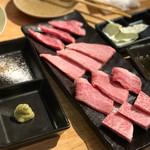 もんもん - 松阪牛4種盛り