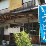 上野製麺所 - 上野製麺所さん 入り口
