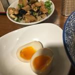 麺匠春晴 - ミニチャーシュー丼 煮玉子メルマガプレゼント分