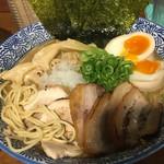 麺匠春晴 - 特製 濃厚煮干し鶏白湯ラーメン(´∀`)麺大 ☆★恒例☆麺ミセ♫★☆