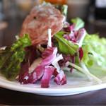 ラ・ゴロセッタ - ランチのサラダ