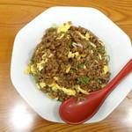 らーめん ぎん琉 - 料理写真:ブラックチャーハン