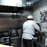 麺屋 龍 - 厨房