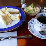 ぷろばんす - サンドモーニングプレート