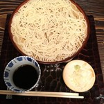68739970 -  別製 ざる (さらしな蕎麦は砂場の名物) ¥650