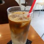 エスプレッソ ファクトリー - たっぷり美味しいアイスカフェラテ♡