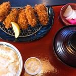 68741156 - カキフライ定食  1250円+税