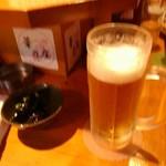 華乃庄 - ドリンク写真:生ビール