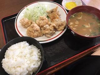 竹田丸福 古町店 - とり天定食