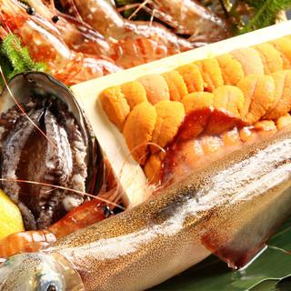 その時期、今だから味わえる、卸売市場直接買付けの海鮮