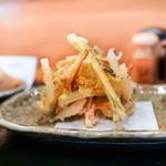 讃岐麺処 か川 - かき揚
