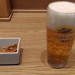 68744465 - 生ビール(ジョッキ)(500円)