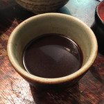 寺方蕎麦 長浦 - 独特の汁