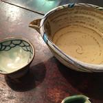 寺方蕎麦 長浦 - 灘の金杯辛口小(700円)