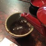 寺方蕎麦 長浦 - 蕎麦湯は自然体